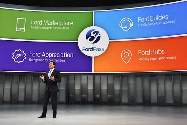 福特与Pivotal合作进行FordPass开发
