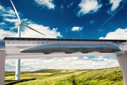 超级高铁Hyperloop或2020年投入运营