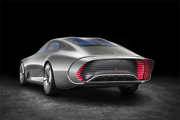 奔驰IAA概念车空气动力模式