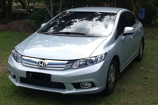 本田将在广州生产油电混合动力汽车高清图片