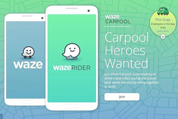 谷歌旗下地图应用Waze在旧金山推出拼车服务