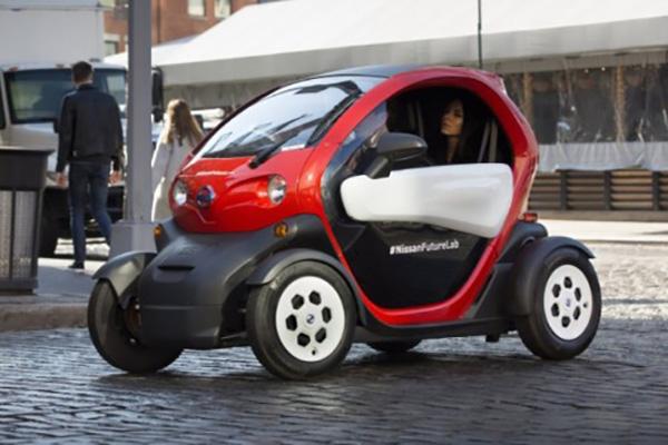 日产未来实验室新项目:汽车共享和电动车