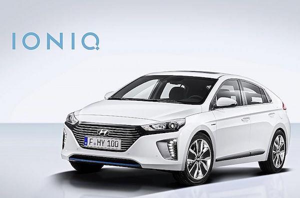 现代发布Ioniq,EV/Hybrid/PHEV三种动力可选