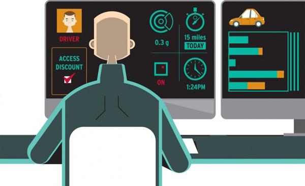 保险公司利用OBDII设备监控车主的驾驶情况