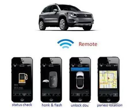 图6 手机可通过远程车辆存取服务查询车况