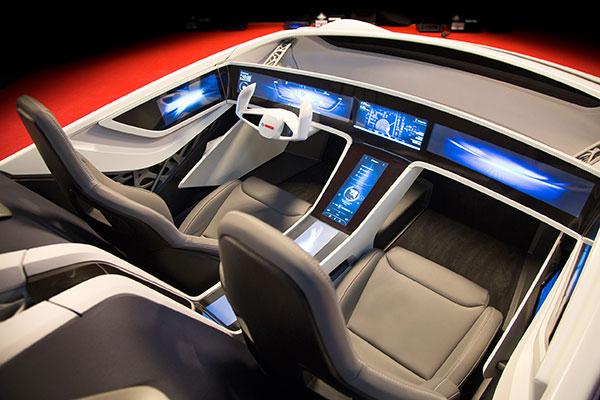 博世2016 CES展示车
