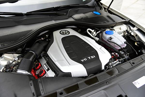 EA837 3.0T V6机械增压发动机