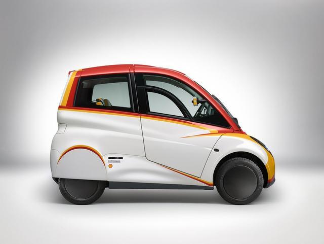 壳牌推概念车:它真不是给麦当劳送货的吗?