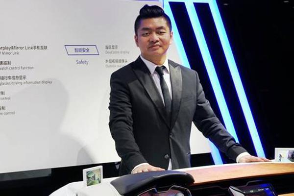 上海赫千电子科技CEO 哈骏元