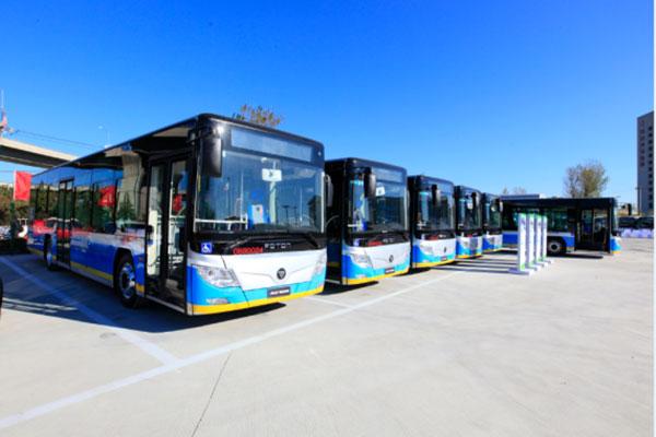 福田将向北京提供100辆燃料电池客车