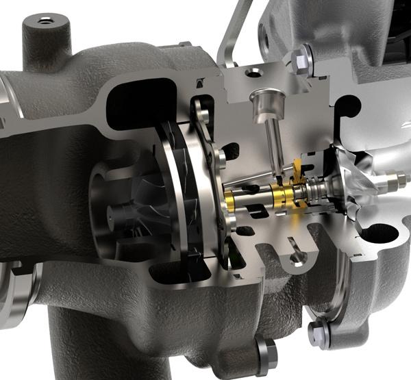 博世马勒开发新产品:可变截面涡轮增压器