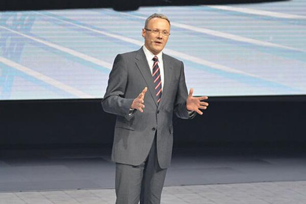 冯思翰出任大众品牌乘用车中国CEO