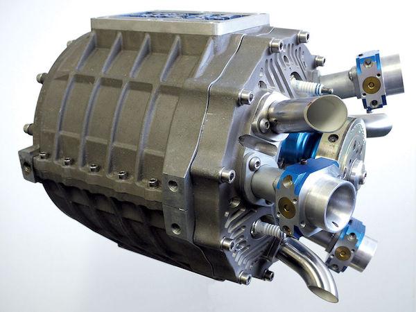 杜克第二代轴向发动机,圆筒式外形