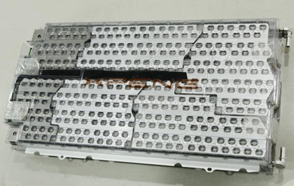 小鹏汽车电池包模组图 (版权归品牌所有,授权车云网独家首发)
