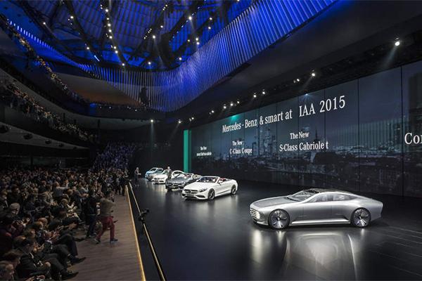 2015法兰克福车展奔驰发布会