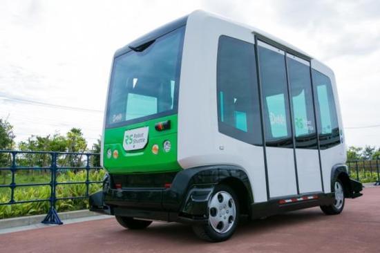 日本无人驾驶巴士试营业,最高时速40公里