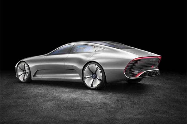 奔驰IAA概念车原始设计模式