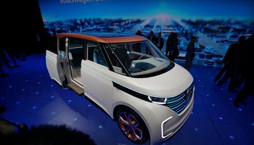 大众Budd-e电动概念车
