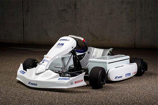 博世推出首款电动卡丁车,搭载BRS系统
