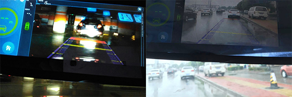 光照不足与雨天环境下,专业版样机的产品表现