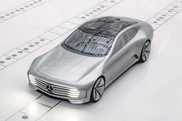 奔驰IAA概念车发布