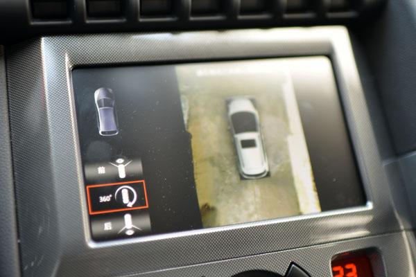 东风标致新款3008车型搭载360度全景影像