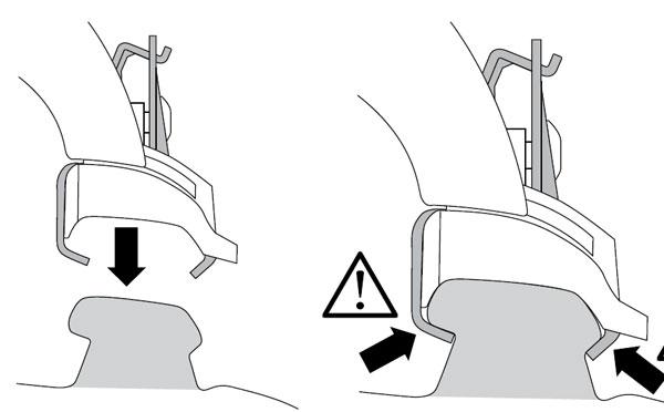另外一种一体化纵轨的截面图和安装方式(举例)