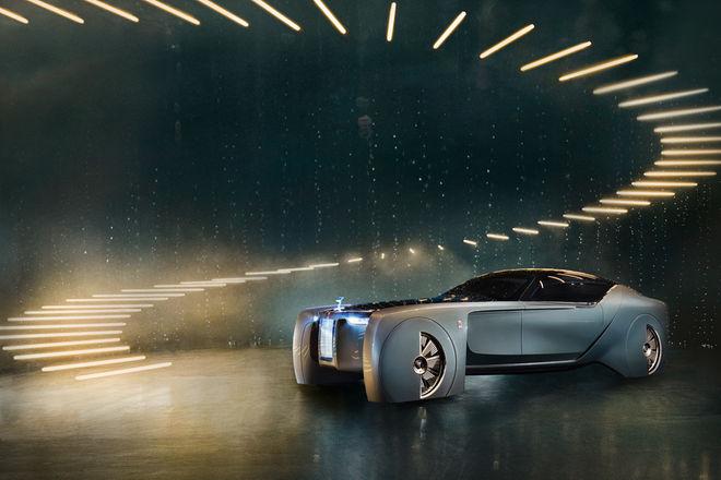劳斯莱斯首款自动驾驶电动概念车