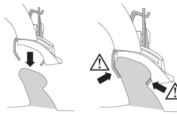 一种一体化纵轨的截面图和安装方式(举例)