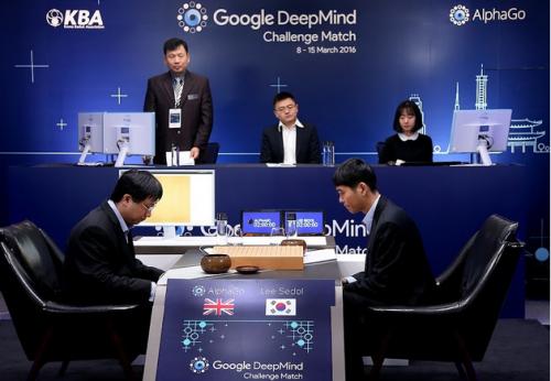 AlphaGo对战李世石