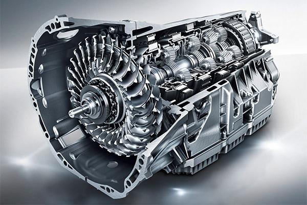 奔驰9G-TRONIC变速器结构图