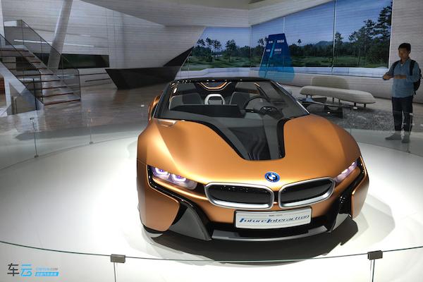 宝马Future Interact 100概念车