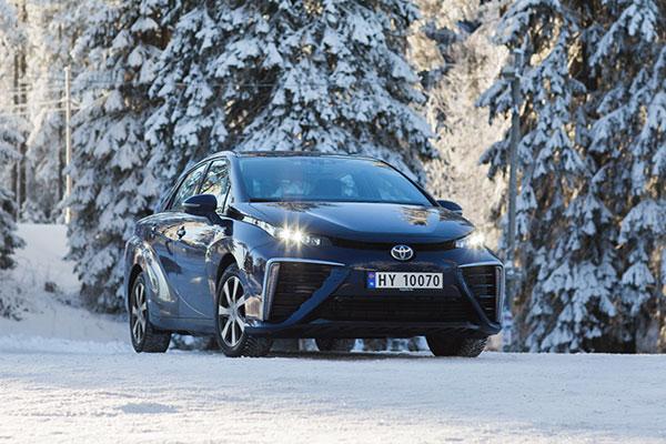 丰田氢能源汽车Mirai夏天进入瑞典和挪威