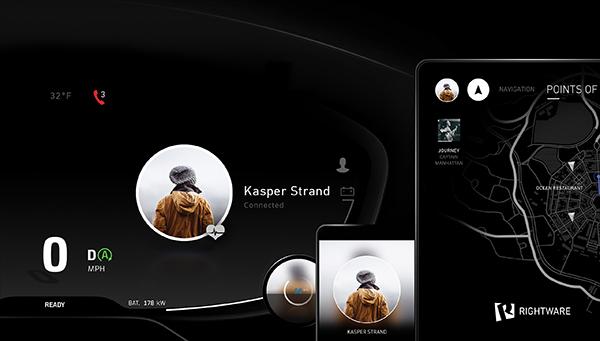 Rightware在CES推出多屏人机交互界面概念产品