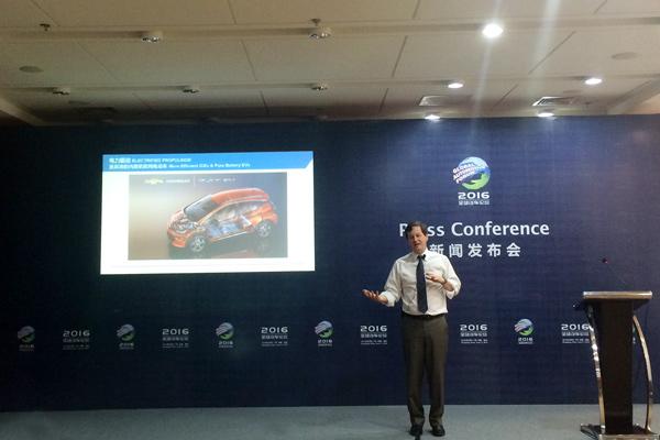 通用汽车战略与全球业务规划副总裁迈克尔•艾博森(Michael Ableson)