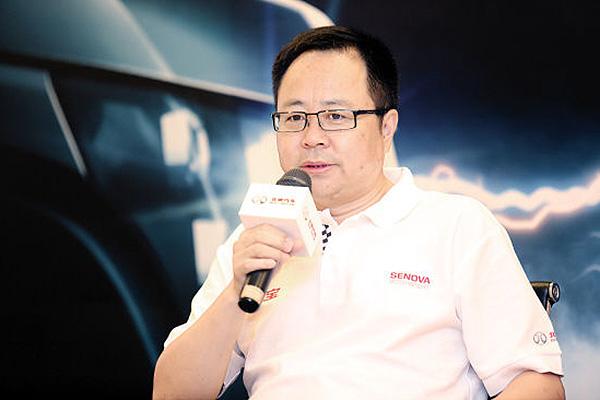 北汽股份总裁李峰