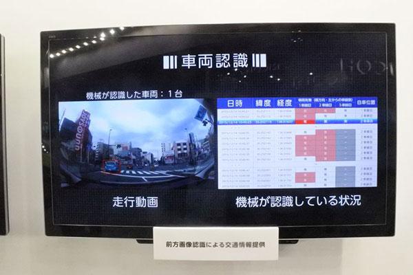 丰田展示用大数据实现安全驾驶
