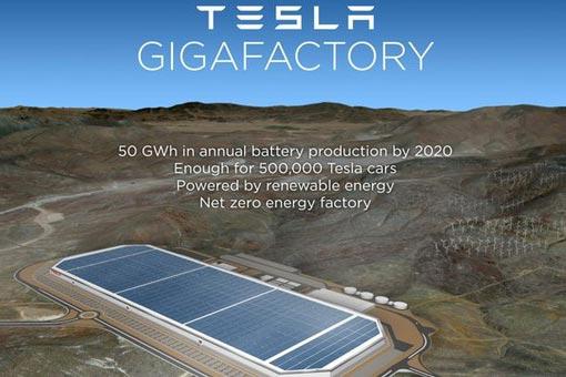 特斯拉内达华电池厂产能仅开启20%