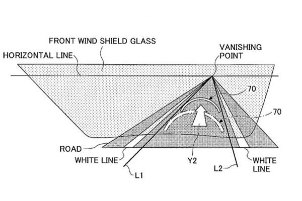 丰田最新专利,一项关于「增强现实动态HUD」的新技术